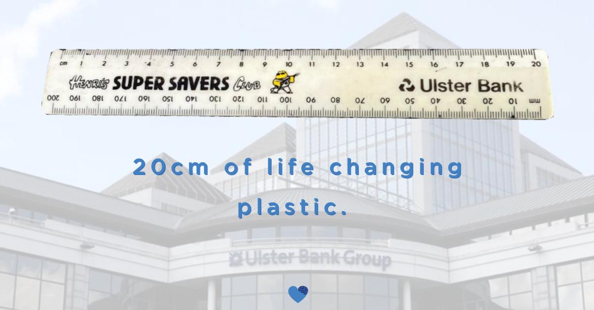 20cm of life changing plastic