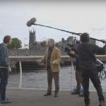Rob on set corporate video Ireland